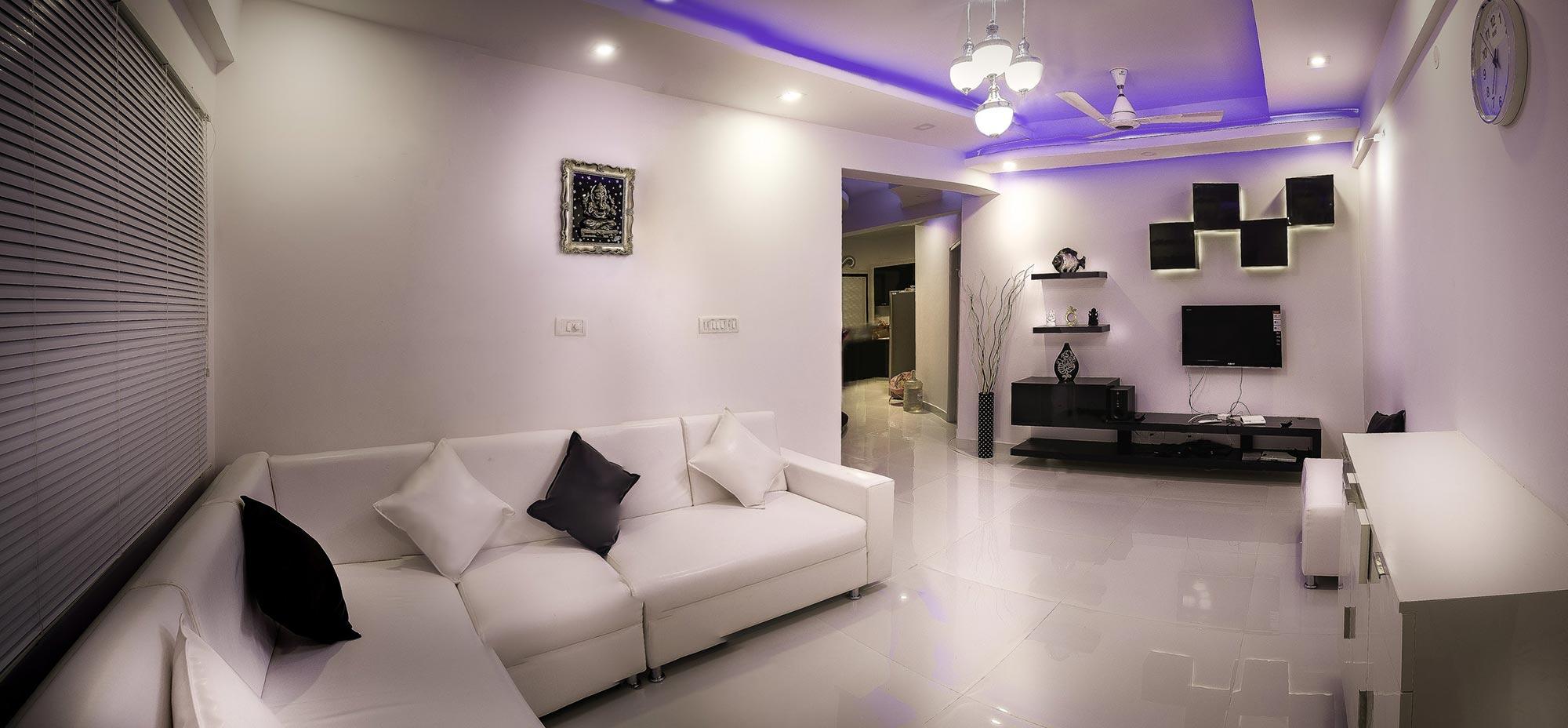 Illuminazione stanza con led