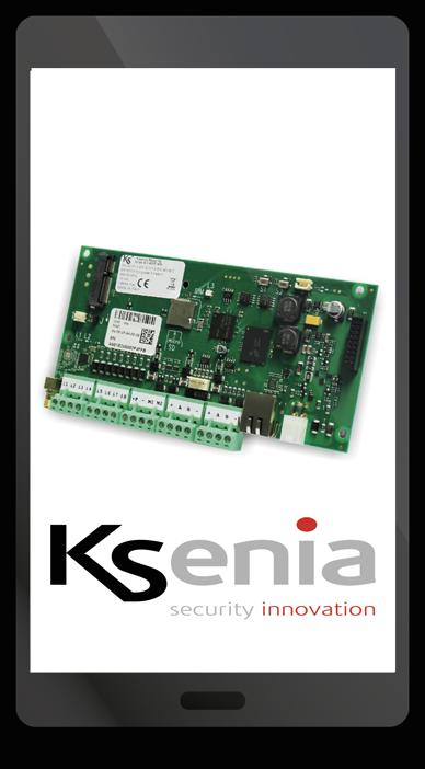 Smartphone con prodotto KSenia